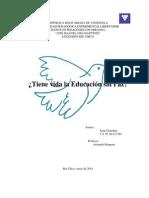 Educaciion Para La Paz
