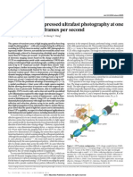 Single-shot compressed ultrafast photography at one hundred billion frames per secondGao 2014
