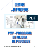 Gestion Por Procesos y PMP