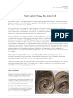 Pump Cavitation and How to Avoid It White Paper