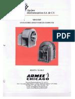 Ventilador Armee Chicago vent set diseño 35