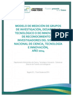 Documento Medicion Grupos - Investigadores Version Final 15-10-2014