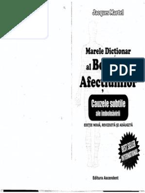 Jacques Martel Marele Dictionar Al Boli Si Afectiunilor PDF