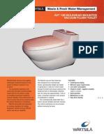 Wartsila o Water Avt 13b Toilet