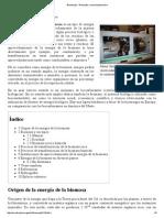 Bioenergía - Wikipedia, La Enciclopedia Libre