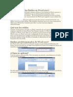 Tutorial sobre los Estilos en Word 2007.docx