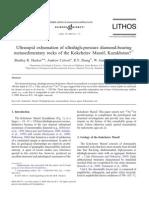 63 Ultra-rapid Exhumation of Ultrahigh Pressure Diamond-bearing Metasedimentary Rocks of the Kokchetav Massif Hacker