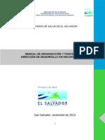 Manual Organizacion y Funciones Direccion Rrhh (1)
