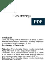 Gear Metrology 1