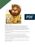 Fabula - El León y El Ratón