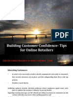 Building Customer Confidence- Tips for Online Retailers