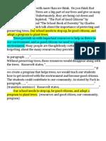 dodd - trees persuasive essay