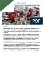 Roboti Industriali Prezentare