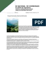Parques Nacionales y Reservas Del Ecuador