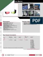 LP6 series pushbutton datasheet