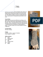 cute fingerless glove pattern