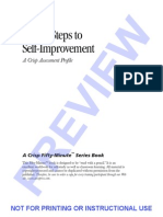 12 Steps to Self Improvement - Adam Wilcox