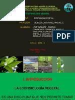Ecofisiologia Vegetal
