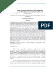 Globalization, Economic Imbalances, and Sustainable Development