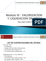 Modulo III Valorizaciones y Liquidacion de Obras Con Logotipo