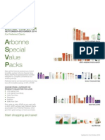 Arbonne Corporate - Special Value Packs