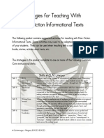 strategies for teaching with non-fiction informational texts