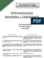 Epistemología Moderna y Emergente[1]