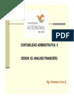 Analisis Financiero - Ratios