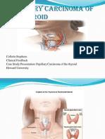 papillary carcinoma of the thyroid