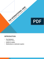 interactional view ppt