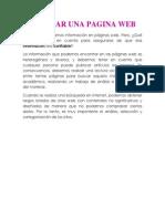 Instrumento Pra Evaluar Una Pagina Web