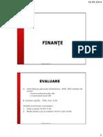 Sinteze Finante ID 2014_2015