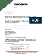 Informe Resultados caracterizacion de materiales granulares