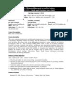 UT Dallas Syllabus for cgs3325.001.10s taught by Peter Assmann (assmann)