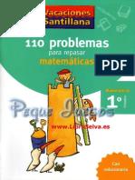 110 problemas para resolver de matematicas de primer grado de secundaria.pdf