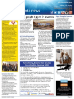 Business Events News for Fri 05 Dec 2014 - DCC posts $33m in events, New Shanghai venues, Relighting the light, GENerating Change, and much more