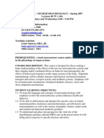 UT Dallas Syllabus for nsc4370.001.07s taught by Joseph Wood (woodj)