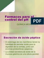 9.Frmacos Para El Control Del PH Del Estmago
