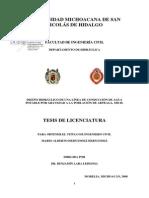 DISEÑO HIDRAULICO DE UNA LINEA DE CONDUCCION DE AGUA POTABLE POR GRAVEDAD A LA POBLACION DE ARTEAGA MICH.pdf