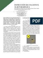 Articulo Estufa Solar Parabolica