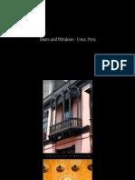Lima´s doors and windows
