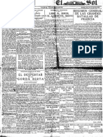 El Sol (Madrid. 1917). 29-7-1918