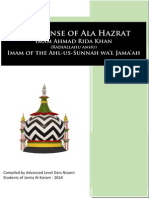 Shaykh Zulfqar Al-Azhari Responds to the Critics of A'la Hazrat (RA)