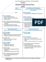 individualized educational plan- fall 2014vb