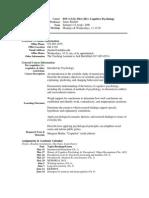 UT Dallas Syllabus for cgs3361.021.06u taught by James Bartlett (jbartlet)