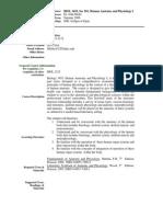 UT Dallas Syllabus for biol3455.521.06u taught by John Moltz (jmoltz)