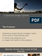 food diversity in malawi design project slideshow