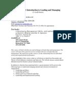 UT Dallas Syllabus for ba3345.001 06f taught by Padmakumar Nair (pxn031000)