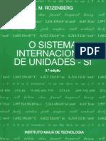 o Sistema Internacional de Unidades Si 3.a Edicao