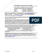 UT Dallas Syllabus for ee2110.002 06f taught by Nathan Dodge (dodge)